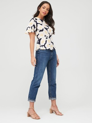 Warehouse Nicky Floral Top - Multi