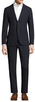 John Varvatos Austin Notch Lapel Striped Suit
