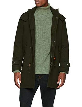 Hudson Scalpers Men's Parka Paño Jacket,X-Large