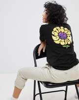 Stussy Oversized T-Shirt With Flower Back