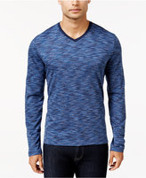 Alfani Men's Tri-Color Long-Sleeve T-Shirt, Only at Macy's