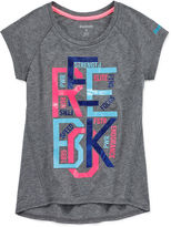 Reebok Girls Graphic Fitness T-Shirt - Preschool