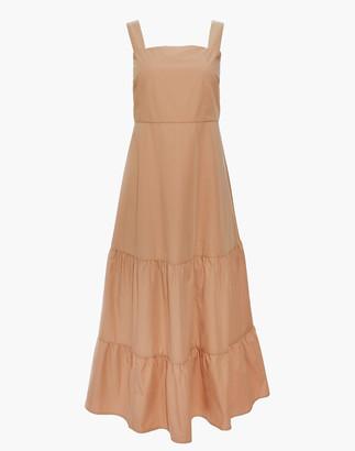 Madewell Button-Back Tiered Sundress