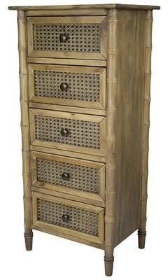 Bay Isle Home Ali 5 Drawer Accent Chest