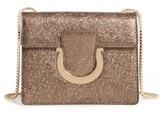 Salvatore Ferragamo Small Thalia Leather Shoulder Bag - Blue