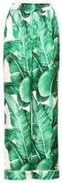 Dolce & Gabbana Printed Silk Trousers