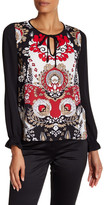 Laundry by Shelli Segal Long Sleeve Blouse