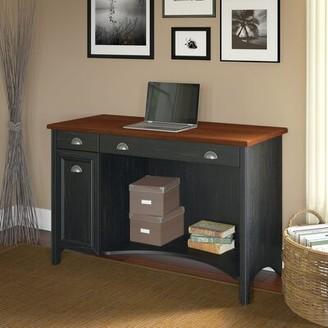 Three Posts Resaca Computer Desk Color (Frame): Black