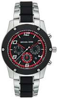 Michael Kors Chronograph Watch Silberfarben/schwarz