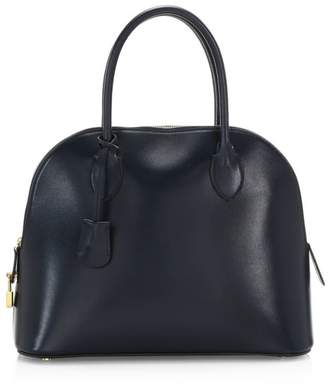 The Row Lady Bag Leather Satchel