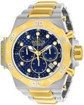 Invicta Men's Akula Gold-Tone Steel Bracelet & Case Quartz Dial Analog Watch 23101