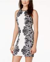 B. Darlin Juniors' Printed Bodycon Dress