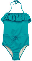 Milly Minis Ruffle One-Piece Swimsuit (Big Girls)
