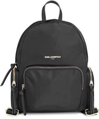 Karl Lagerfeld Paris Cara Nylon Backpack