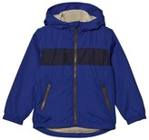 Gap Radiant Blue Stripe Windbreaker
