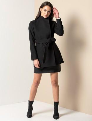 Ever New Viola Short Wrap Coat