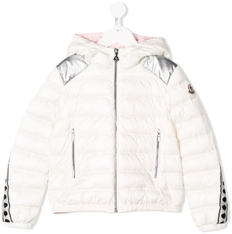 Moncler Enfant Hooded Down Jacket