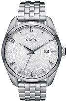 Nixon Women's A4182129 Bullet Analog Display Japanese Quartz Silver Watch
