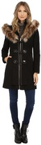 Betsey Johnson Toggle Front Wool