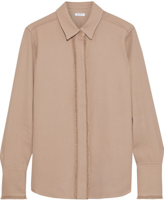 Equipment Roselle Frayed Twill Shirt