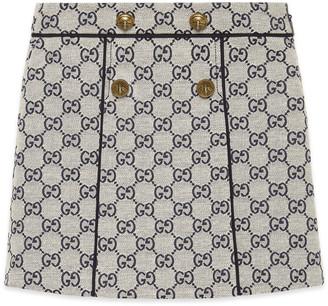 Gucci Children's GG canvas skirt