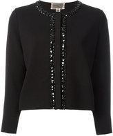 Giambattista Valli embellished trim jacket