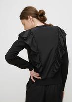 Jil Sander black sweater cn ls