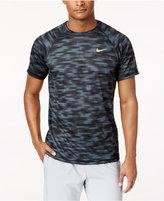 Nike Men's Hydro Dri-FIT Printed Rash Guard