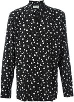 Saint Laurent star and moon print shirt
