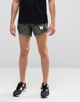 Good For Nothing Retro Shorts With Logo Taping