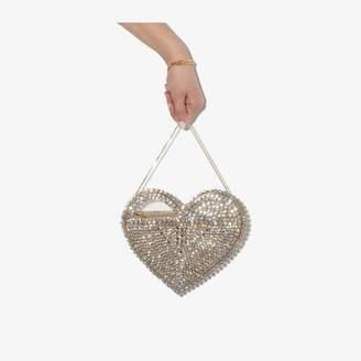 Rosantica gold tone Rejina heart crystal bracelet bag