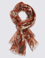 Marks and Spencer Remaster Paisley Print Scarf