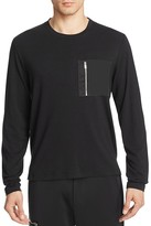 Ovadia & Sons Satin Zip Pocket Tee