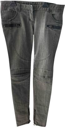Balmain Grey Denim - Jeans Trousers for Women