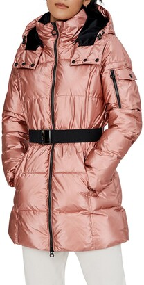 Noize Becka Hooded Puffer Coat
