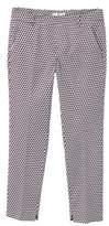 MANGO Printed trousers