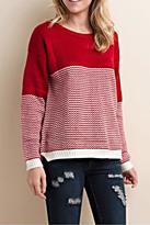 LLove USA Cross Hatch Sweater