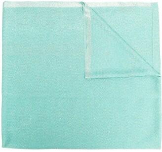 Missoni Fine Knit Metallic Scarf