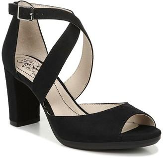 LifeStride Allison Peep Toe Heeled Sandal - Wide Width Available