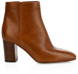 Aquatalia Florita Leather Ankle Boots