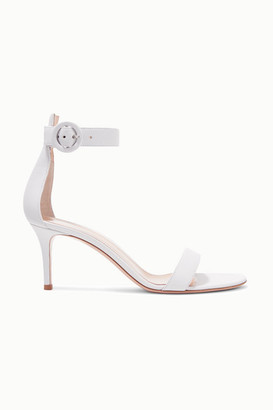 Gianvito Rossi Portofino 70 Leather Sandals
