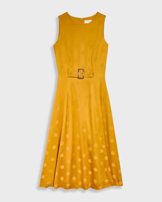 Ted Baker INNABEL A-line belted midi dress