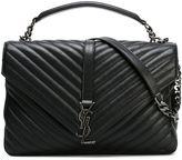 Saint Laurent large 'Collège Monogram' satchel - women - Leather - One Size