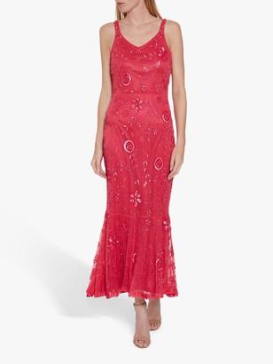 Gina Bacconi Zaina Beaded Dress