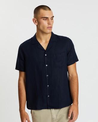 Assembly Label Malibu Linen Short Sleeve Shirt