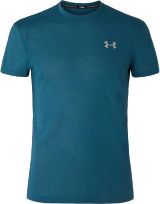 Under Armour Ua Streaker 2.0 Mesh-Panelled Microthread T-Shirt