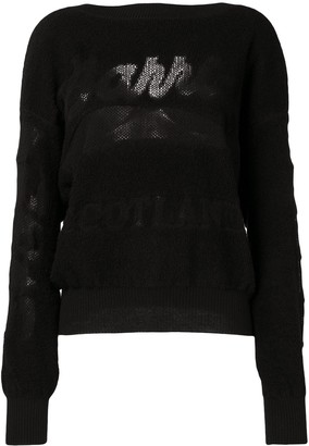 Barrie Logo Embroidered Sweater
