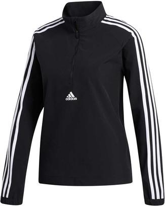 adidas Womens 3-Stripes Cover Up Jacket Black XS