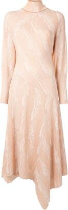Proenza Schouler Woodgrain Jacquard Dress