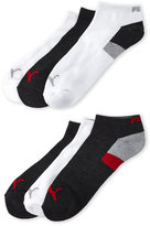 Puma 6-Pack Color Block Logo Low Cut Socks